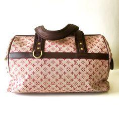 8b5525f389c2 Authentic Louis Vuitton Handbag A Rare handbag in Cerise Cherry color .  Features the classic LV