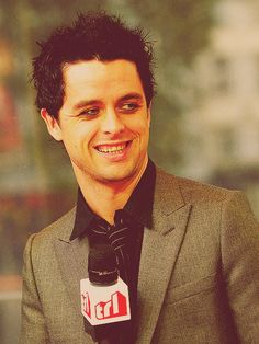 BILLIE JOE ARMSTRONG  This is kind of a funny/wierded out look.
