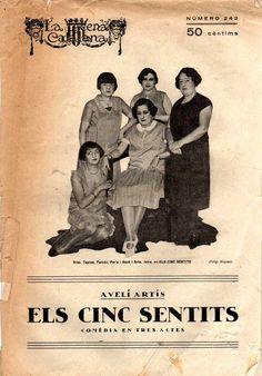 Els cinc sentits - Avelí Artís - LA ESCENA CATALANA nº 242 - 22.10.1927