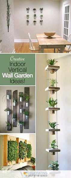 Vertical Wall Garden Ideas