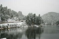 Sylvan Lake Custer South Dakota  #winter #sylvan #lake #custer #south #dakota #photography