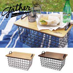食べ物、ドリンク、レジャーシート... 何でも詰め込んで、ピクニックに出かけよう!そして現地に着いて、中身を広げたら、何とテーブルに早変わり。もちろん屋内でも便利に収納で使える、機能的アイテムです。●耐荷重 : 5kg