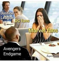 Top 27 Avengers Endgame Memes Endgame is out for months now. But the memes are still going hot hot hot. Here are some of the best Avenges Endgame MemesTop 27 Avengers End Avengers Humor, Marvel Avengers, Funny Marvel Memes, Marvel Jokes, Dc Memes, Funny Memes, Marvel Comics, Hilarious, Avengers Vs Justice League