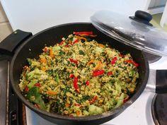 In diese Asiatische Hirse-Gemüse-Pfanne von Christina könnte ich sofort meine Gabel tauchen...