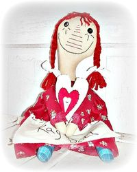 My Unique Whimsy Folk Art World by Foster Child Whimsy by Eerie Beth - She's The Artist