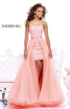 Sherri Hill (21165) - 2013: like a modern princess :)
