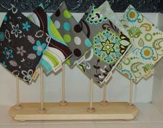 reusable bag drying rack by gracsun on Etsy, $20.00