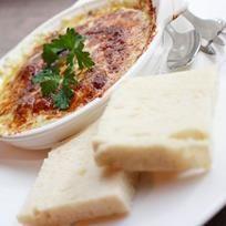 Etanat valkosipulilla ka sinihomejuustolla tai parmesaanilla. Escargots with parmesan or blue cheese. Albumi: MenuKevat2015