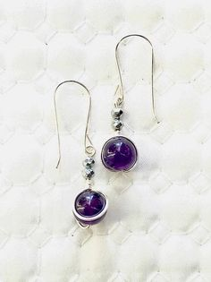 Excited to share this item from my #etsy shop: Amethyst earrings, 925 Sterling silver earrings, purple earrings. Hematite gemstone, amethyst earrings, purple earrings, Hematite earrings Purple Earrings, Amethyst Earrings, Amethyst Gemstone, Purple Amethyst, Sterling Silver Earrings, Gemstone Jewelry, Jewellery Earrings, Pink Gemstones, Natural Gemstones