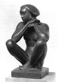Georg Kolbe (1877 - 1947) - Sitzende (1923)