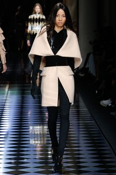 Balmain   Fall/Winter Ready-To-Wear Collection via Designer Olivier Rousteing   Modeled by Lineisy Montero   March 3, 2016; Paris
