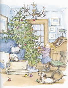 """""""Christmas In The Country"""" by Cynthia Rylant and Diane Goode"""