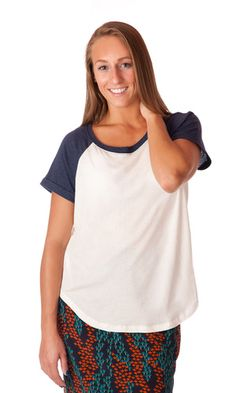 Gentle Fawn Bailey Tee-Navy #fall #fashion #style