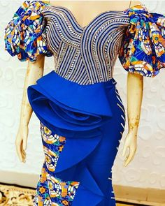 Hello Divas here are beautiful collection of most beautiful trending Ankara long gown collection for your next event, just scroll down and check 2020 Creative African Dresses For Kids, African Wear Dresses, African Fashion Ankara, Latest African Fashion Dresses, African Print Fashion, African Attire, Unique Ankara Styles, Ankara Long Gown Styles, Ankara Styles For Women