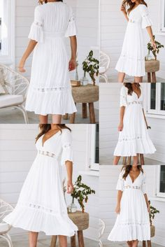 Dress up your summer look with an on-trend Maxi Dress.  ✔ Worldwide Free Shipping ✔ Get flat 10% Off on Summer Sale: Apply Coupon Code: summer2020  #CutOut #Lace #MaxiDress #Sexy #DailyCasual #FormalEvening #Holiday #Summerfashion Maxi Outfits, Maxi Dresses, Evening Party, Evening Dresses, Clubwear Dresses, Ivory Dresses, Fashion Colours, Summer Sale, Summer Looks