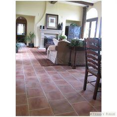 Mexican Tile - 17x17 Tierra Floor Tile