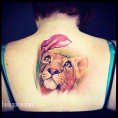 Los 75 tatuajes de leones para mujer mas bonitos del año, y su significado!