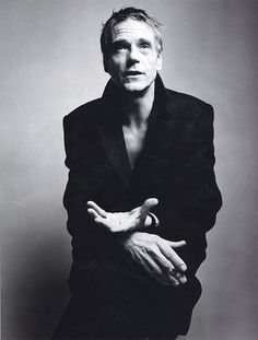 Jeremy Irons for Armani.