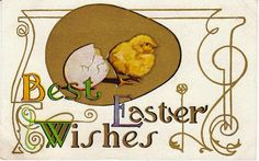View from the Birdhouse: Vintage Easter Postcard Giveaway at Birdhouse Book...