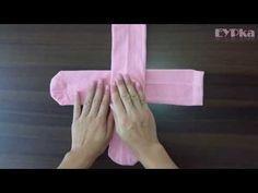 Harika Çorap Katlama Yöntemi - Sock folding - YouTube