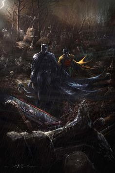 Batman and Robin by *rudyao on deviantART