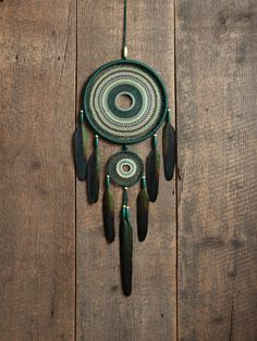 Green dream catcher/Large Dream catcher/ Dreamcatcher Home Decor/Dream catcher gift by MyHappyDreams on Etsy https://www.etsy.com/listing/272190662/green-dream-catcherlarge-dream-catcher