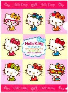 Sanrio Hello Kitty Fashion Plastic File Folder
