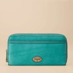 FOSSIL® Wallets Checkbook Wallets:Women Explorer Zip Clutch SL3245