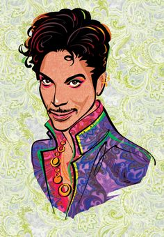 Prince - Kathryn Rathke Illustration Portfolio – Portraits, Line Drawing Illustrator Love Drawings, Animal Drawings, Dc Monuments, The Artist Prince, How To Make Animations, Illustrators On Instagram, Children's Book Illustration, Illustrations, World Music