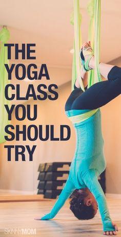 Get the skinny on aerial yoga!