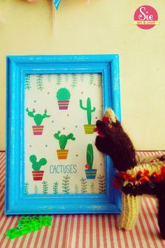 Cuadrito cactus ♥
