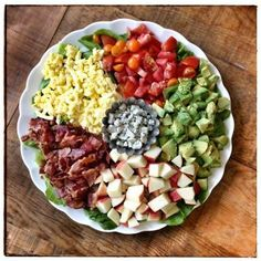Recipe: Cobb Salad - 100 Days of Real Food