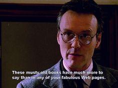 Giles on Buffy the Vampire Slayer.