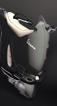 The rocket-vespa! Hmmm, who knows what the future might be for all things Vespa. Me, I'm still a bit skeptical. :-)