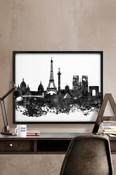 A0 A1 A2 A3 A4 Sizes Montreal Canada Night Skyline Art Giant Poster Print