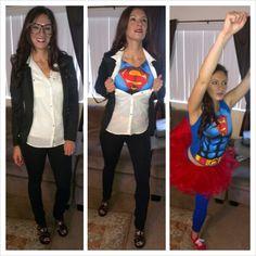 Diy halloween amy farrah fowler the big bang theory costume diy clark kent to superman solutioingenieria Gallery