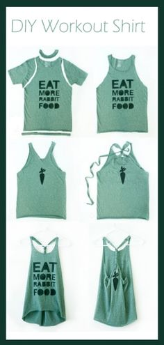 diy workoutshirt