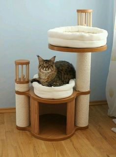 Cat tree that I dont hate! Cat tree that I dont hate! The post Cat tree that I dont hate! appeared first on Katzen. Diy Cat Bed, Cat Towers, Cat Aesthetic, Cat Room, Cat Condo, Pet Furniture, Furniture Dolly, Cheap Furniture, Cat Accessories