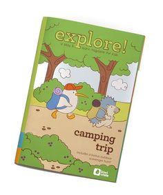 Kiwi Crate Camping Trip Magazine
