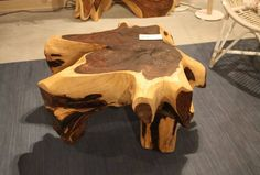 Wood Edge Slab Coffee Table | The Best Wood Furniture