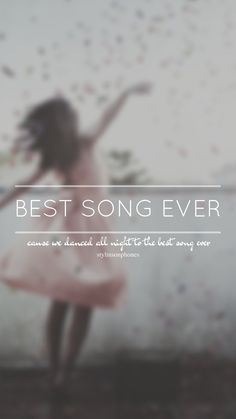 Best Song Ever // One Direction // ctto: @stylinsonphones (on Twitter)