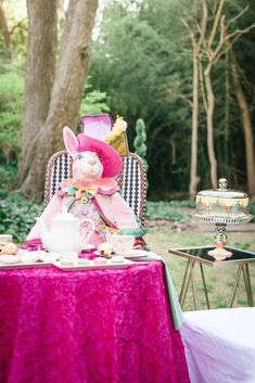 Alice in Wonderland Easter Party Ideas | Photo 1 of 34