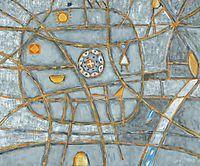 Canterbury Art Exhibition - Peter Ferguson. Naive art. Australian artist.