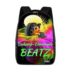 Custom Dubstep Electronic Beatz Laptop Backpack