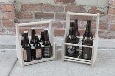 Design-centric beer caddy. http://sixnsticks.com/