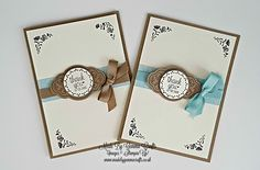Stampin'Up Label Me Pretty 5 Fab Cards Day 2