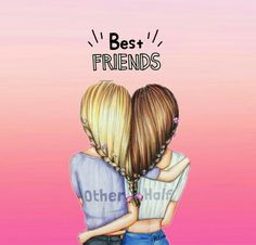 Simo + Sara = friends fotever togheder and mogliettine❤❤❤ Best Friend Sketches, Friends Sketch, Best Friend Drawings, Girly Drawings, Bff Pictures, Best Friend Pictures, Best Friend Quotes, Friend Photos, Best Friend Wallpaper