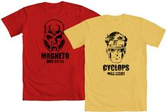 "WE LOVE FINE WEDNESDAY is here!  Who was ""more"" right? Cyclops or Magneto?!    Repin this post and you are entered to WIN your choice of ""Magneto Was Right"" (inspired by the Chris Claremont era of X-Men) or ""Cyclops Was Right"" (inspired by the recent run of Avengers vs. X-Men) from our Marvel Comics category! And hey, if you're a fan, post a comment telling us who you feel was right!"
