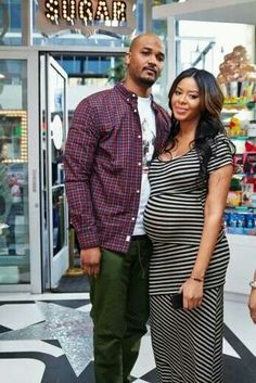 Vanessa Simmons & Mr. Wayan are expecting