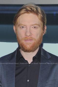 Domhall Gleeson, Tom Hardy Actor, Goodbye Christopher Robin, Brendan Gleeson, Ginger Beard, Harry Potter Film, Ex Machina, The Revenant, Gorgeous Men